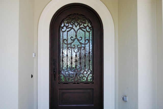 Custom glass door installation door glass repair door - Arched interior doors with glass ...